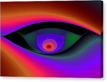 Eye Of A Stranger No. 2 Canvas Print by Mark Eggleston