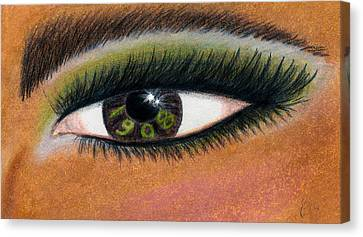 Eye Of The Beholder Series- 1908 Canvas Print by BFly Designs
