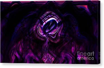 Eye Of The Dream Canvas Print by Ashantaey Sunny-Fay