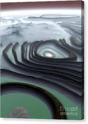 Eye Of The Minotaur Canvas Print