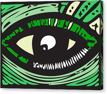 Eye Run It  Canvas Print by Kamoni Khem