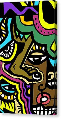Eye Run This Canvas Print by Kamoni Khem
