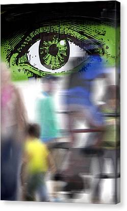 Eye Spy Canvas Print by Richard Piper