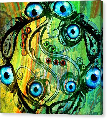 Eye Understand Canvas Print by Ally  White