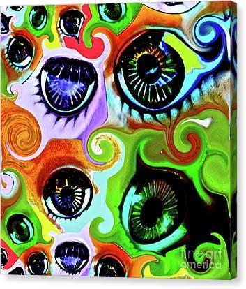 Eyecandy Canvas Print by Gwyn Newcombe