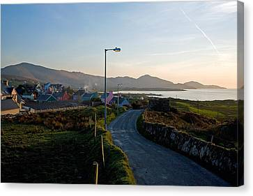 Eyeries Village, Beara Peninsula Canvas Print by Panoramic Images