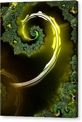 Eyes Of A Stranger Canvas Print by Jeff Iverson