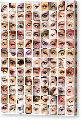 Eyes Of Hollywood - Old Era Canvas Print by Taylan Apukovska