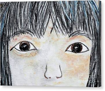 Eyes Of Love Canvas Print