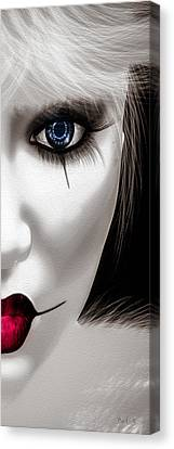 Eyes Of The Fool Canvas Print by Bob Orsillo