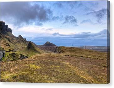 Eyes On The Horizon - Isle Of Skye Canvas Print