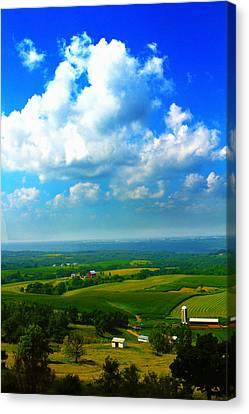 Eyes Over Farmland Canvas Print