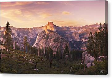 Eyes Over Yosemite  Canvas Print by Peter Coskun