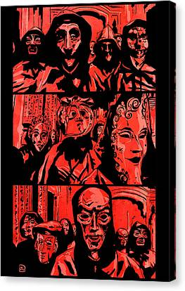 Eyes Wide Shut 2 Canvas Print by Giuseppe Cristiano