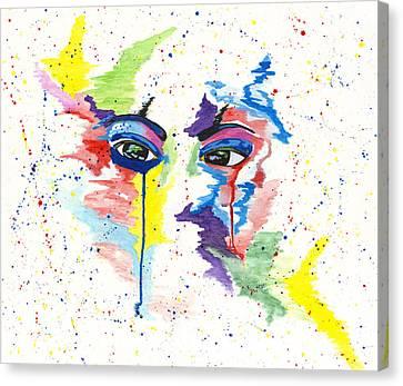 Eyez Canvas Print by Rishanna Finney