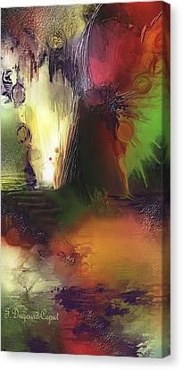 Eygirunne Canvas Print by Francoise Dugourd-Caput