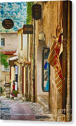 South Of France Canvas Print - Eze Musee by Kate McKenna