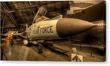 F-101 Voodoo Canvas Print