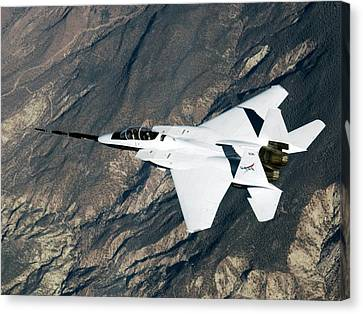 F-15b Quiet Spike Test Plane Canvas Print by Nasa