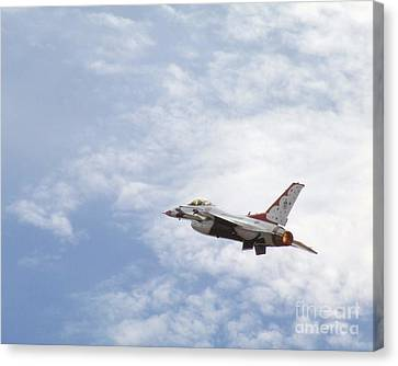 F-16 Thunder Canvas Print
