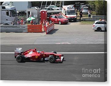 F1 - Fernando Alonso  -  Ferrari Canvas Print