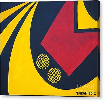 F1 Canvas Print by Taikan Nishimoto