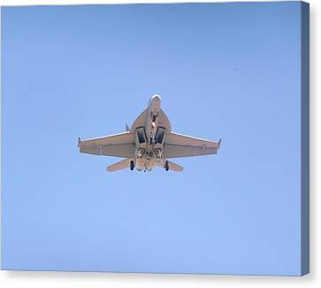 Fa-18ef Super Hornet Canvas Print by Amy Ernst