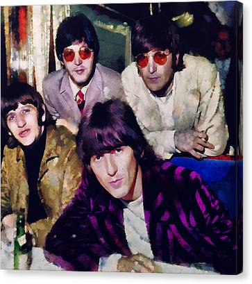 Fab Four Canvas Print by Janice MacLellan