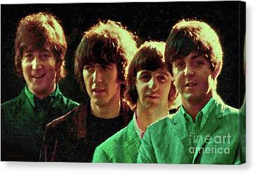 Fab Four Canvas Print