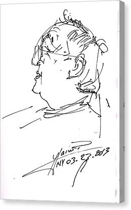 Fabio Canvas Print