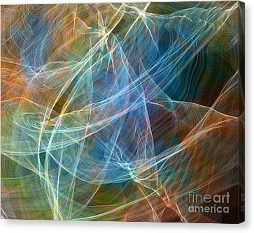 Fabric Nebula Canvas Print