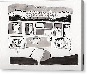 Fabula No. 2 Canvas Print