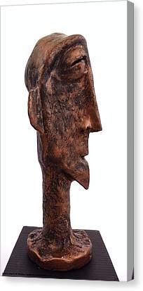 Fabulas Bronze Idol  Canvas Print by Mark M  Mellon