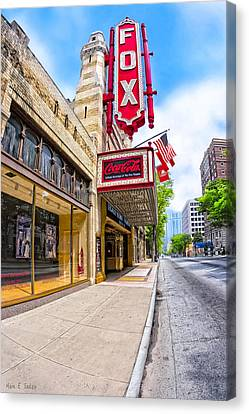 Fabulous Fox Theatre On Peachtree Canvas Print