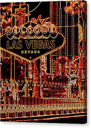 Fabulous Las Vegas Canvas Print