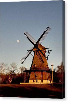 Fabyan Windmill Canvas Print by Ely Arsha