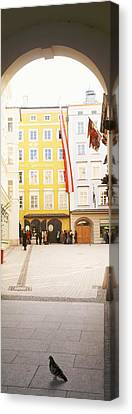 Facade Of A Building, Birthplace Of Canvas Print by Panoramic Images
