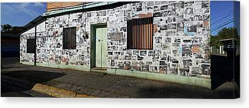 Facade Of A Building, Canton Canvas Print by Panoramic Images