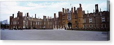 Facade Of A Building, Hampton Court Canvas Print