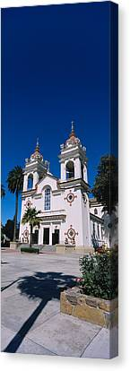 Facade Of A Cathedral, Portuguese Canvas Print by Panoramic Images