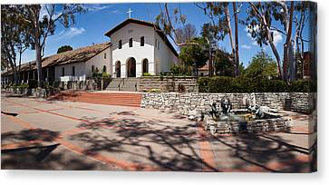 Facade Of A Church, Mission San Luis Canvas Print by Panoramic Images