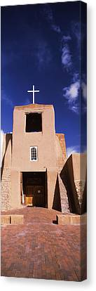 Pueblo Architecture Canvas Print - Facade Of A Church, San Miguel Mission by Panoramic Images