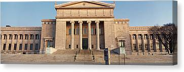 Facade Of A Museum, Field Museum Canvas Print by Panoramic Images