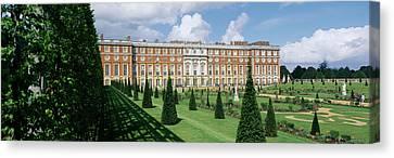 Facade Of A Palace, Hampton Court Canvas Print