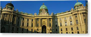 Facade Of A Palace, Hofburg Palace Canvas Print by Panoramic Images