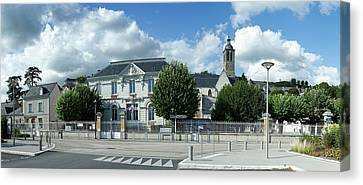 Facade Of Church Of Our Lady Canvas Print by Panoramic Images
