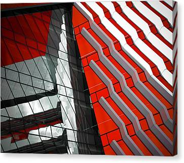 Facadism Canvas Print by Wayne Sherriff