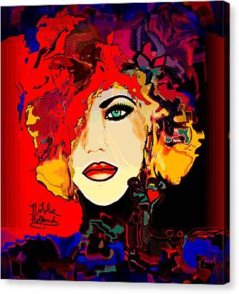 Face 14 Canvas Print by Natalie Holland