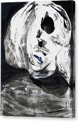 Face 3 Canvas Print by Luka Matijas