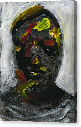 Face 7 Canvas Print by Luka Matijas